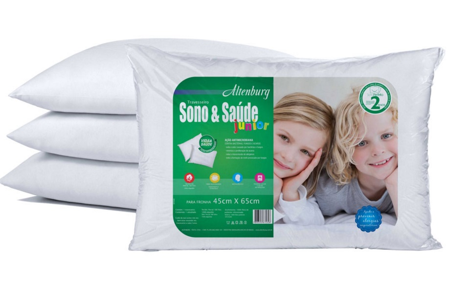 Travesseiro Sono & Saúde Junior Altenburg