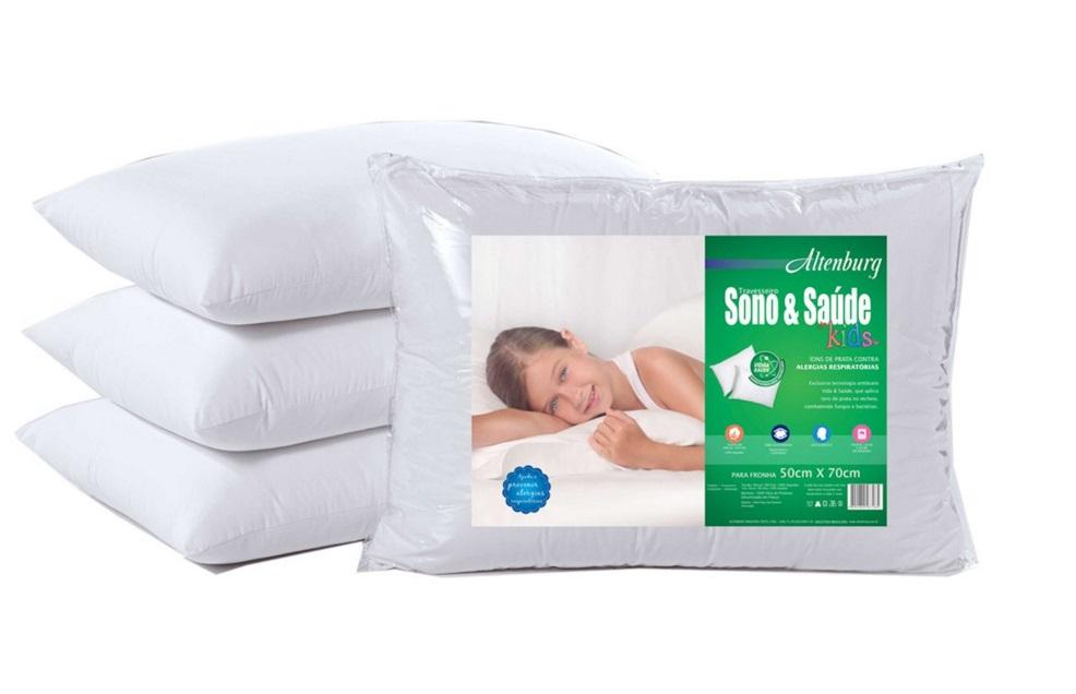 Travesseiro Sono & Saúde Kids Altenburg