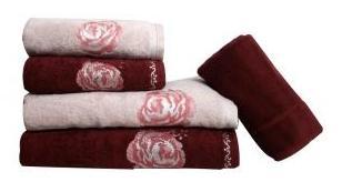 Jogo de toalha de banho 5 peças Mandala - Karsten