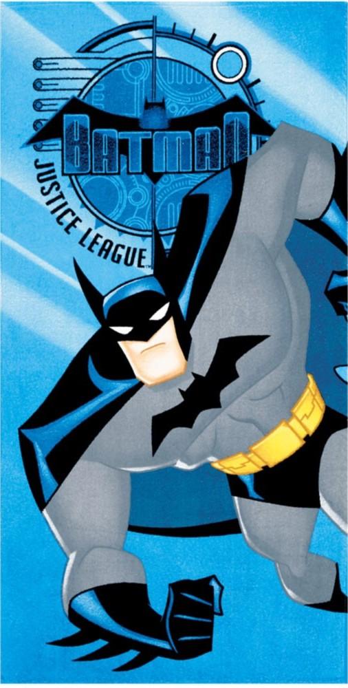 Toalha de Banho Velour Estampada Batman 06 Döhler
