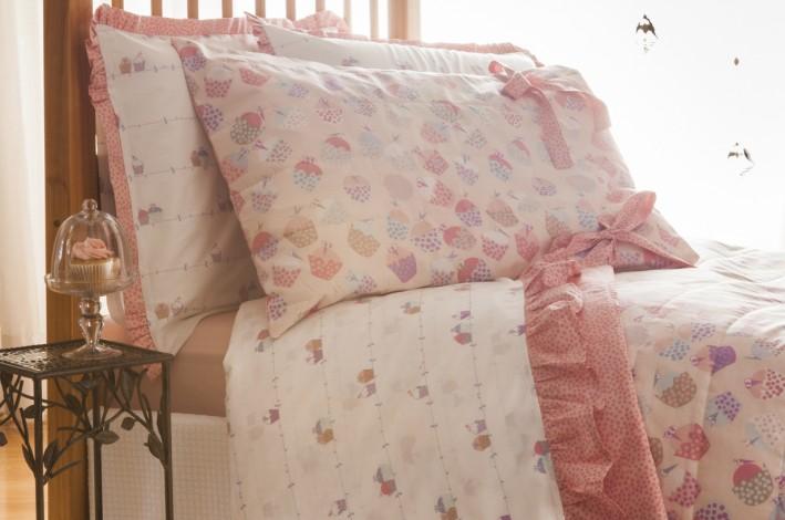 Jogo de Cama Confort Kids Cupcake - Buddemeyer