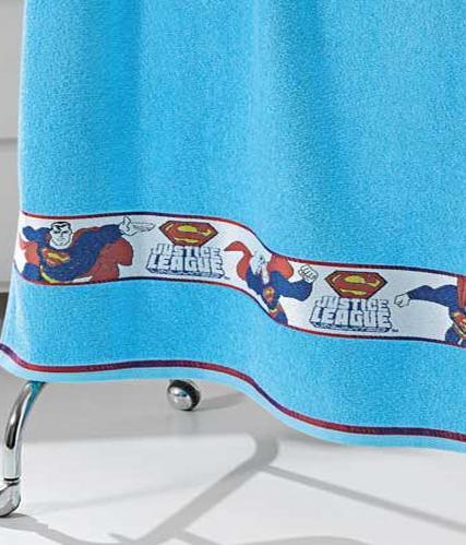 Toalha de Banho Felpudo Jacquard Estampa Licenciada Superman - Dohler