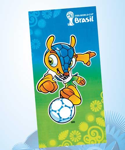 Toalha de Praia Velour Copa Brasil 1 - Dohler