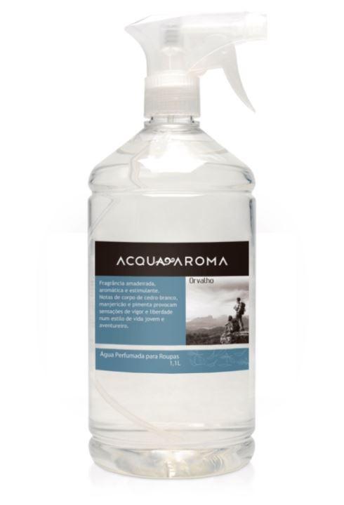 Água Perfumada p/ Roupas Acqua Aroma 1,1L Orvalho