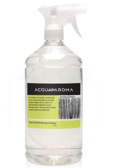 Água Perfumada p/ Roupas Acqua Aroma Bambu Chinês