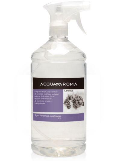 Água Perfumada p/ Roupas Acqua Aroma Lavanda