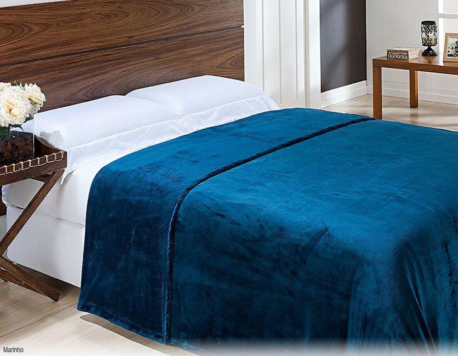 Cobertor Casal de Micro Fibra com Toque de Seda Niazitex