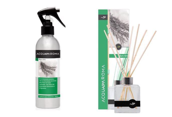 Difusor de Aromas e Perfume de ambiente Acqua Aroma Alecrim