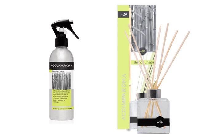 Difusor de Aromas e Perfume de Ambiente Acqua Aroma Bambu Chinês