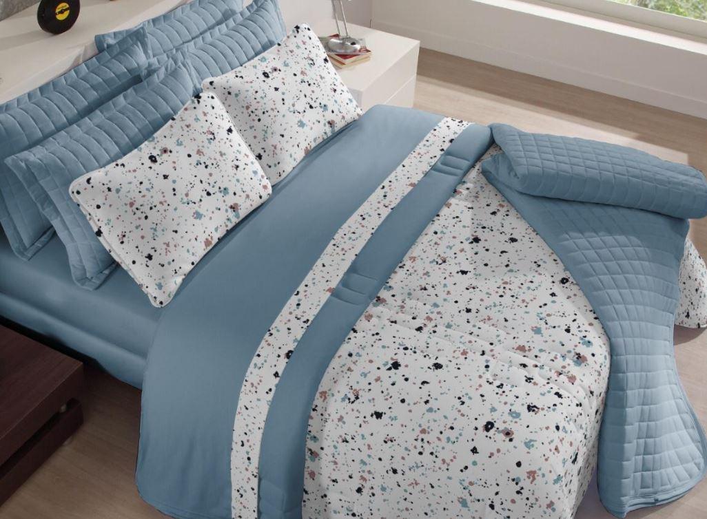 Edredom Casal Comfort Premium Duo Alegria Tecebem