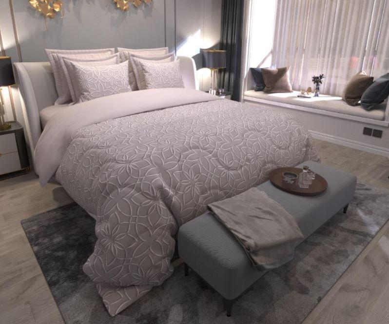 Edredom Casal Comfort Premium Duo Equilibrio Tecebem