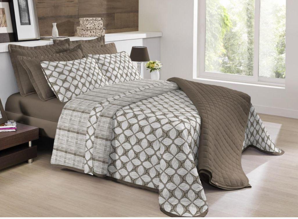 Edredom Casal Comfort Premium Tranquilidade Tecebem