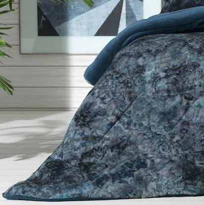 Edredom Queen Blend Fashion Indigo Blue Altenburg