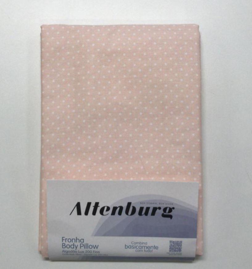 Fronha Body Pillow 40x1,30 Algodão Lux 200 Fios Altenburg