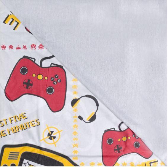Jogo de Cama Solteiro Kids Gamer Sofisticata Atlântica