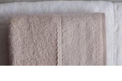 Jogo de Toalha de Banho 5 peças Imperiale Milena Soft Rose Trussardi