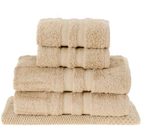 Jogo de toalha de banho Algodão Egípcio Gigante 5 peças Buddemeyer Oferta