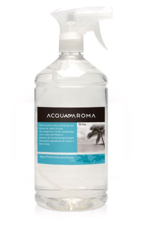 Kit 2 Águas Perfumada p/ Passar Roupas Acqua Aroma 1,1L