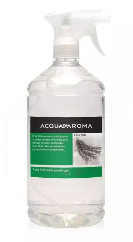 Kit 2 Águas Perfumadas p/ Roupas Acqua Aroma Alecrim 1,1 L