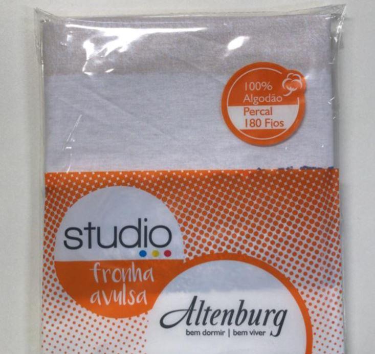 Kit 2 Fronhas Studio 180 Fios 50 x 70 100% Algodão Altenburg