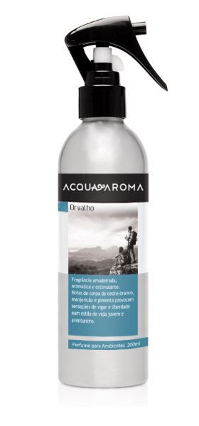 Kit 2 Perfumes para Ambiente Acqua Aroma Orvalho 200 ml