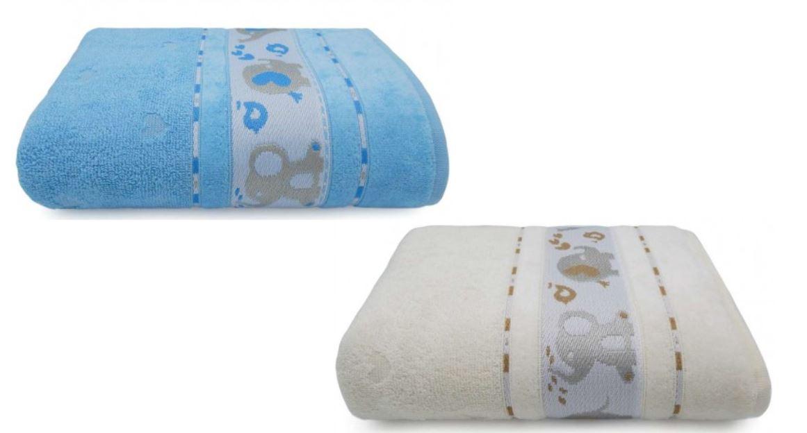 Kit 2 Toalhas de Banho Infantil Soft Baby Appel