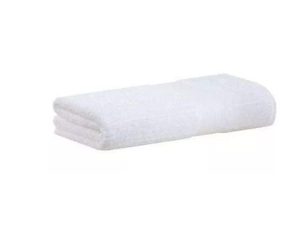 Kit 6 Toalhas de Banho Gigante Branca Fio Penteado Canelado Buddemeyer