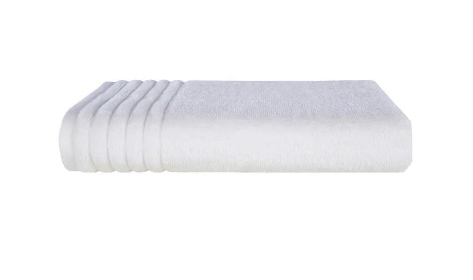 Kit 6 Toalhas de Banho Imperiale Branca Trussardi