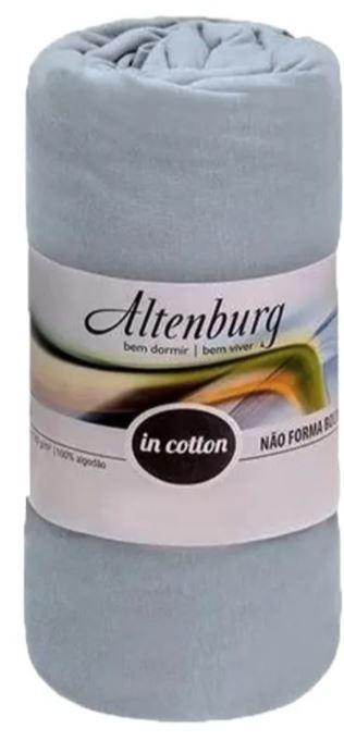 Lençol Casal c/ Elástico Malha in Cotton Altenburg