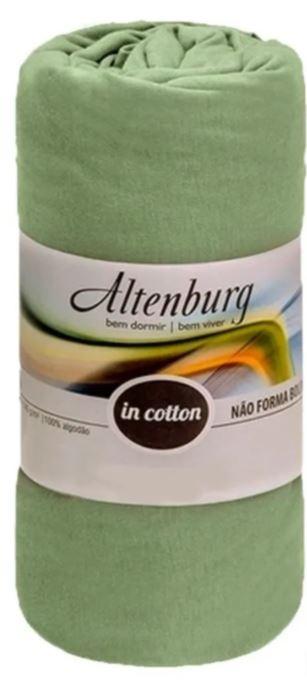 Lençol Solteiro c/ Elástico Malha in Cotton Altenburg