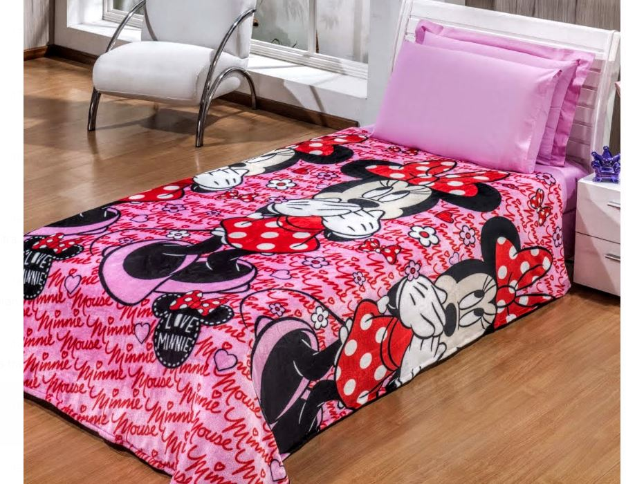 Manta Flannel Infantil Disney 1,50 x 2,20 Andreza