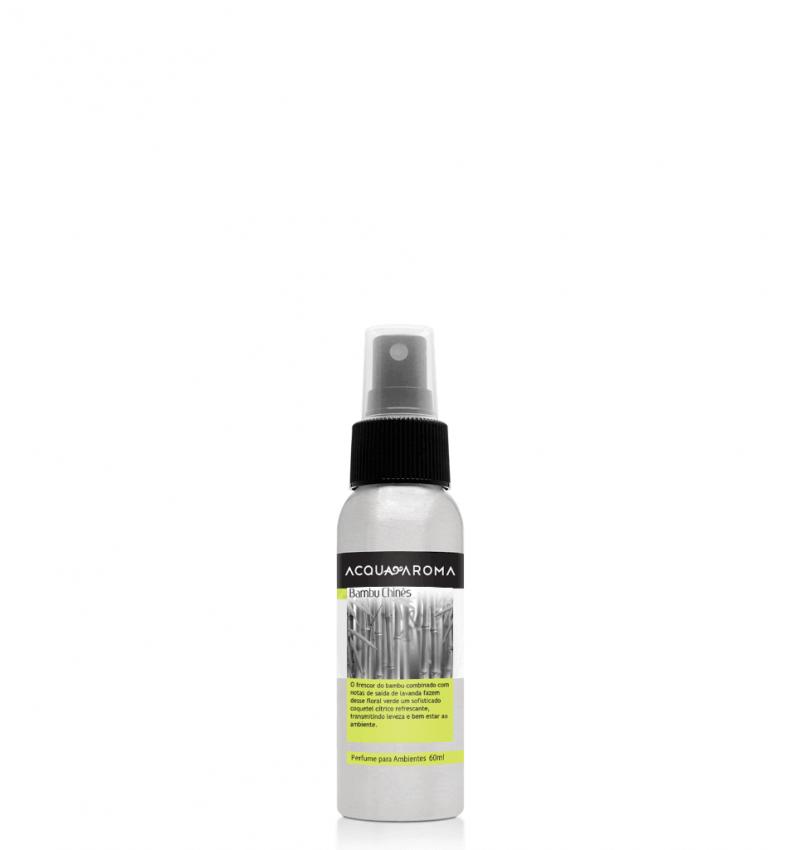 Perfume Ambiente Acqua Aroma Bambu Chinês 60 ml