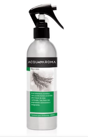 Perfume para Ambiente Acqua Aroma Alecrim 200 ml