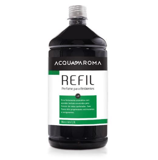 Refil Perfume Ambiente Acqua Aroma Alecrim 1,1L