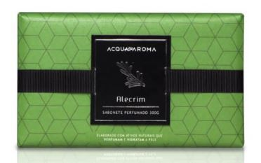 Sabonete Perfumado em Barra 300g Alecrim Acqua Aroma