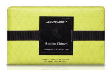 Sabonete Perfumado em Barra 300g Bambu Chinês Acqua Aroma