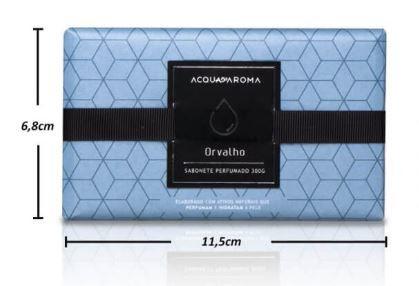 Sabonete Perfumado em Barra 300g Orvalho Acqua Aroma