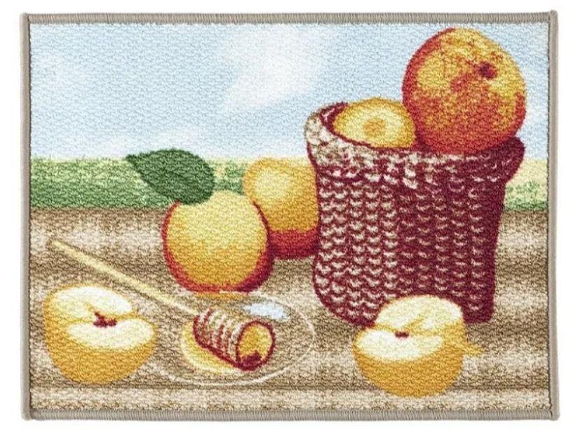 Tapete de Cozinha Dolce Vitta 50 x 1,20 Frutti Corttex