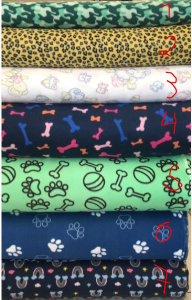 Tecido Soft Estampado 100% Poliéster 1m x 1,60m largura