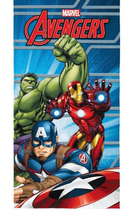 Toalha de Banho Aveludada Avengers Lepper