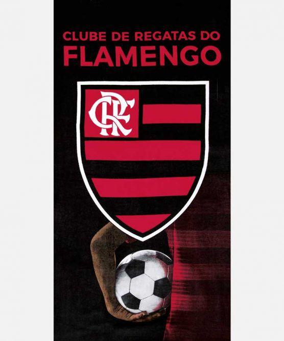 Toalha de Banho Aveludada Flamengo 13 Dohler