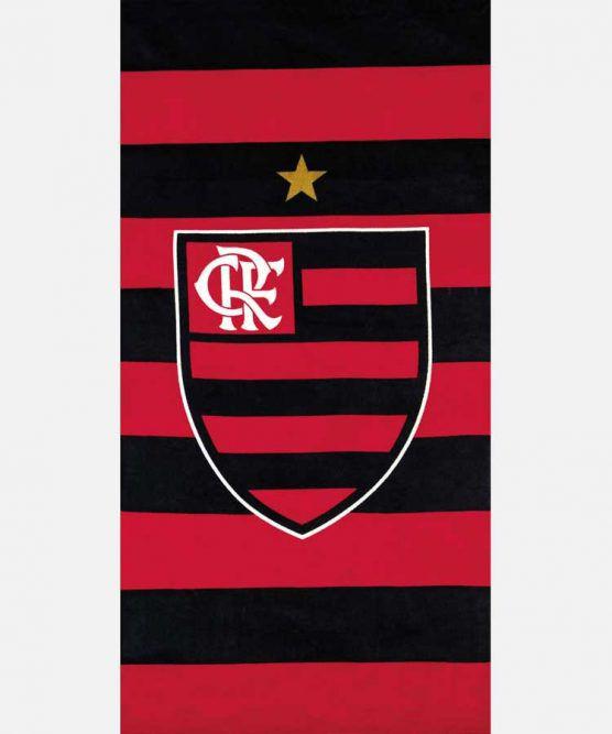 Toalha de Banho Aveludada Flamengo 14 Dohler