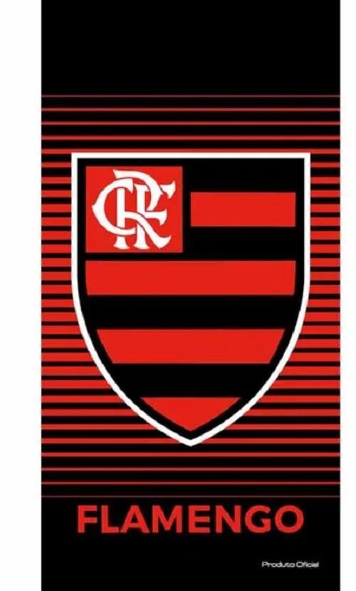 Toalha de Banho Aveludada Flamengo Buettner