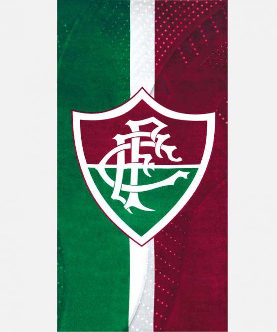Toalha de Banho Aveludada Fluminense 07 Dohler