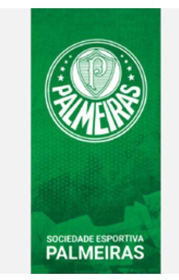 Toalha de Banho Aveludada Palmeiras 06 Dohler
