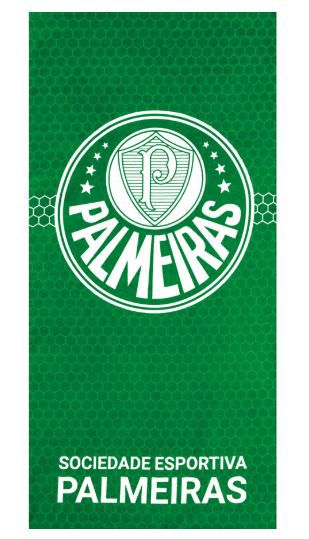 Toalha de Banho Aveludada Palmeiras 07 Dohler