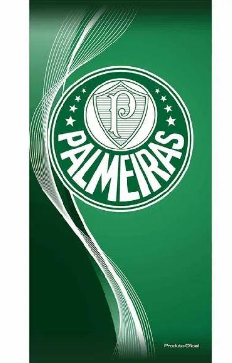 Toalha de Banho Aveludada Palmeiras Buettner