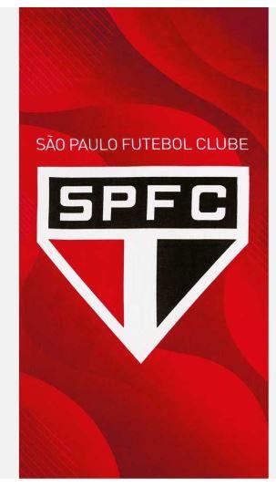 Toalha de Banho Aveludada São Paulo 07 Dohler