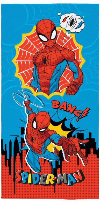 Toalha de Banho Aveludada Spider Man Lepper