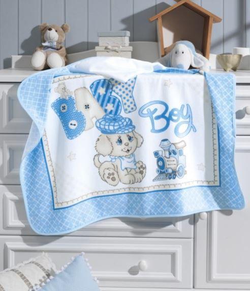 Toalha de Banho com capuz Baby Boy Dohler